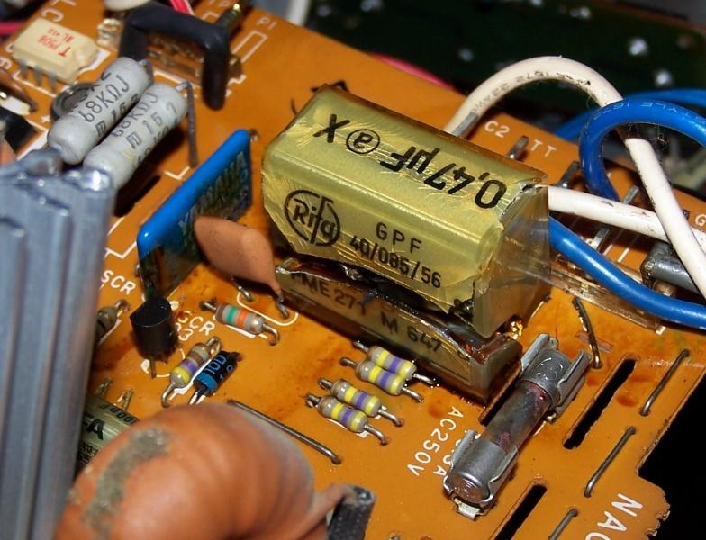 Restoration of a Yamaha A-760 vintage integrated amplifier on